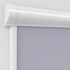 Рулонные тканевые жалюзи Уни-2 Омега FR серый