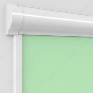 Рулонные тканевые жалюзи Уни-2 Альфа зеленые