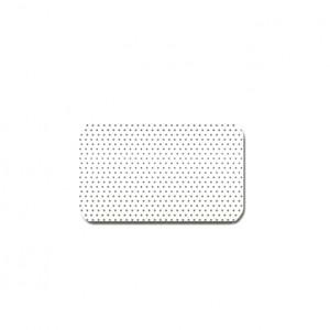 Горизонтальные алюминиевые жалюзи Холис белые-перфорированные