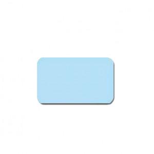 Горизонтальные алюминиевые жалюзи Холис голубые