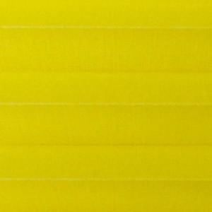Штора плиссе тканевая Опера желтый
