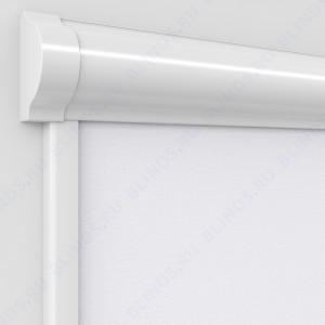 Рулонные тканевые жалюзи Уни-2 Скрин белый