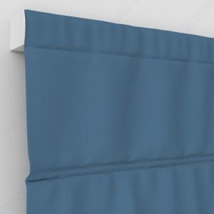 Римские шторы Блэкаут однотонный Голубой