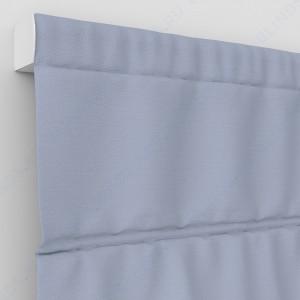 Римские шторы Блэкаут однотонный Белый