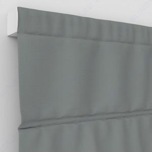 Римские шторы Блэкаут однотонный зелёный