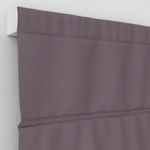 Римские шторы Блэкаут однотонный тускло-лиловый