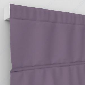 Римские шторы Блэкаут однотонный лиловый
