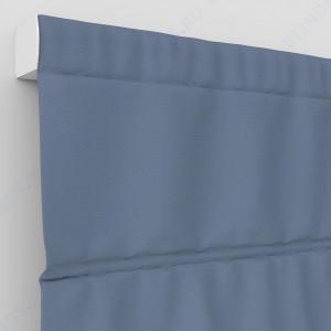 Римские шторы Рогожка синий