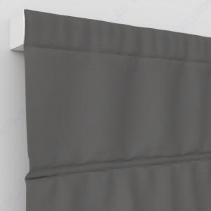 Римские шторы Рогожка дымчатый